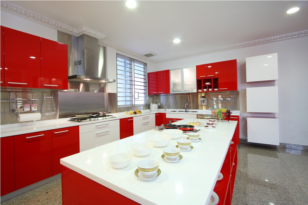 kitchen set, dapur minimalis