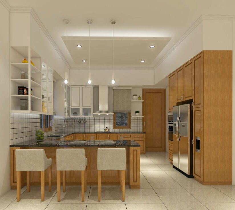 kitchen set, kitchen set murah, desain dapur