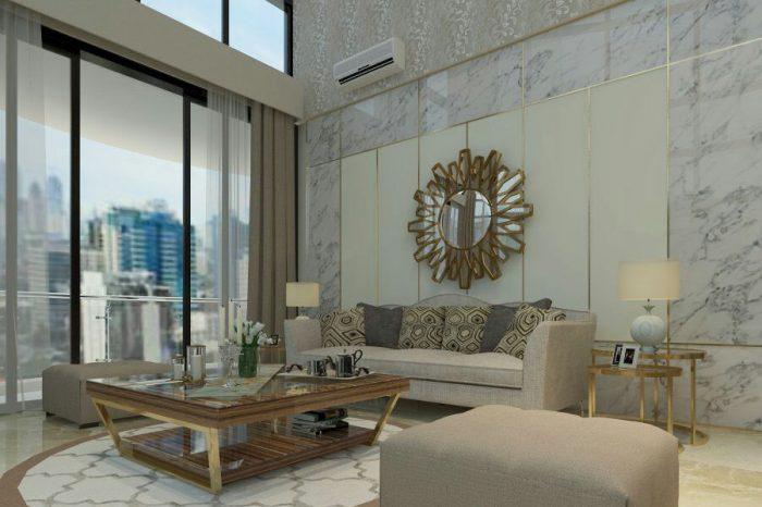 desain ruang tamu 2020